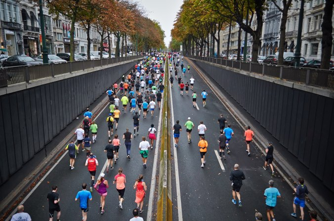 Half-Marathons and Hebrews